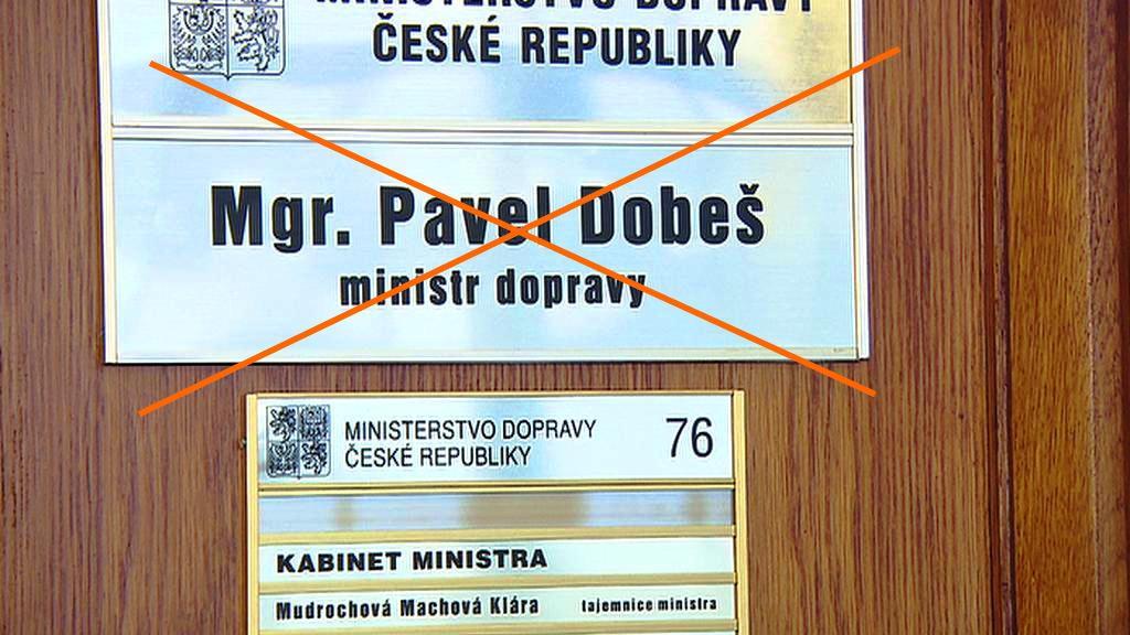Pavel Dobeš skončil ve vládě