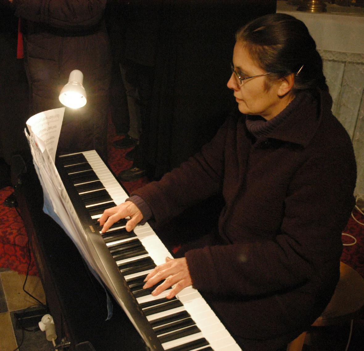 Adventní koncert na Křivoklátě