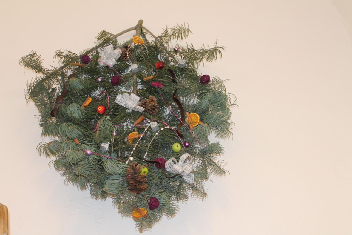Z výstavy Krkonošské Vánoce