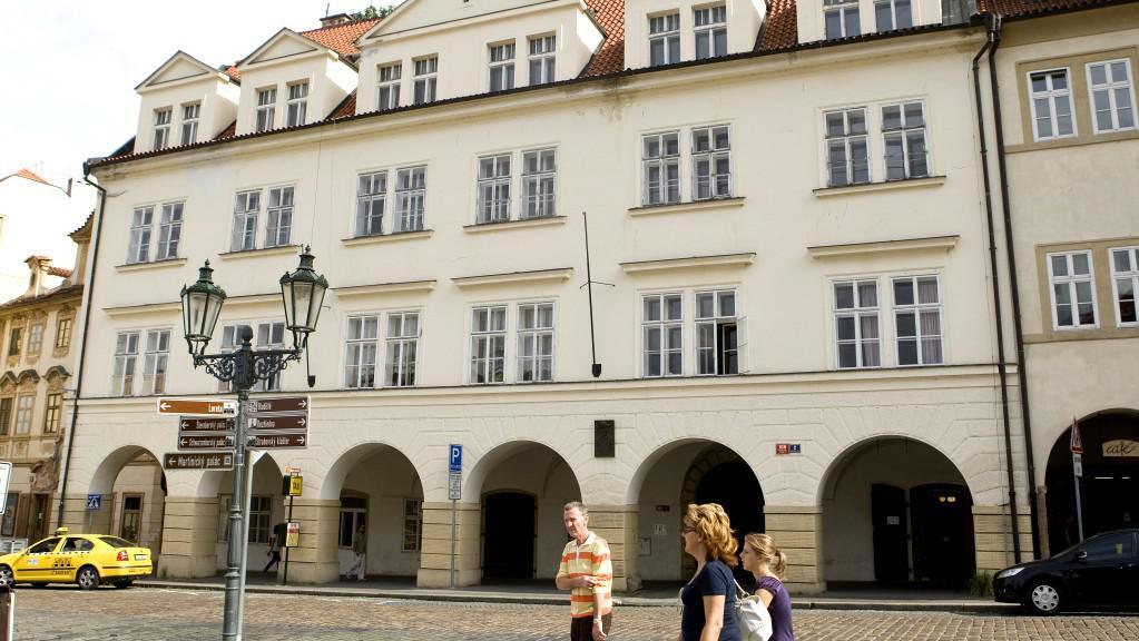 Historický dům na Loretánském náměstí v Praze