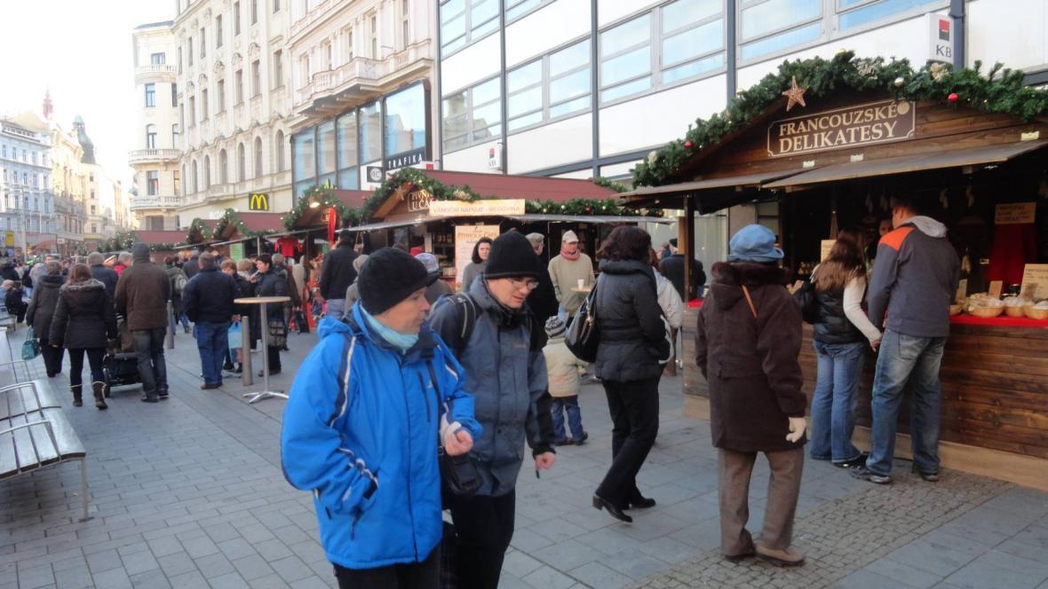 Z brněnského náměstí Svobody