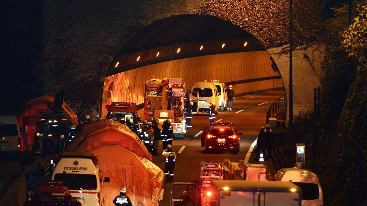 Neštěstí v tunelu Sasago