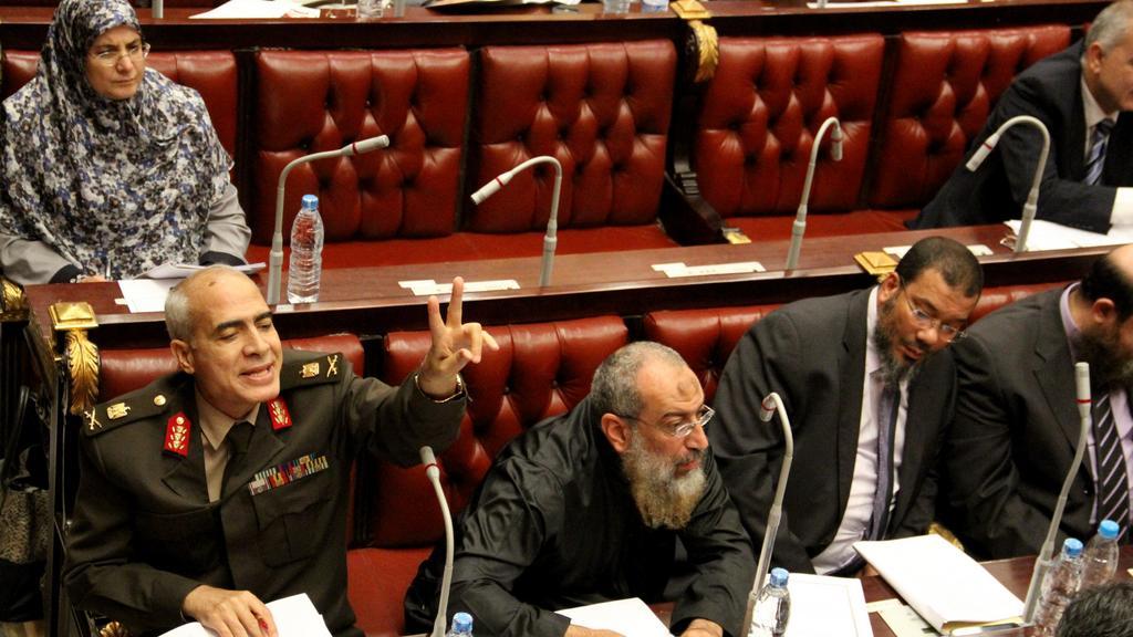 Členové egyptského ústavodárného shromáždění