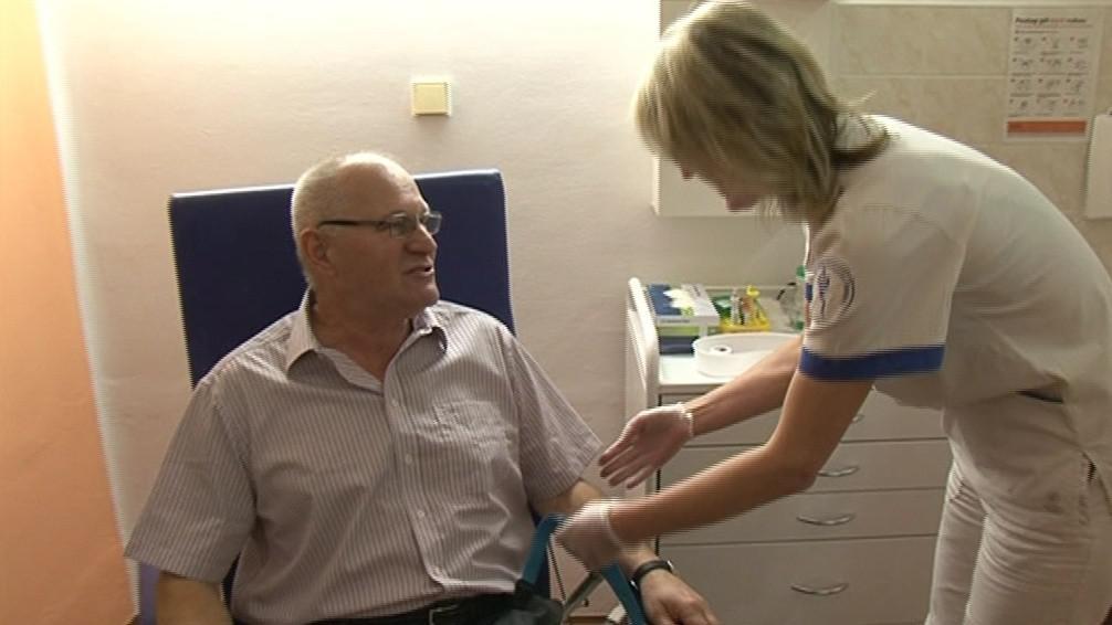 Součástí preventivního onkologického vyšetření je odběr krve