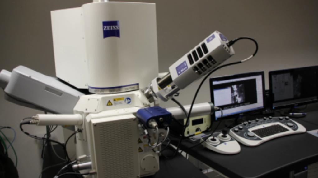 Rastrovací elektronový mikroskop
