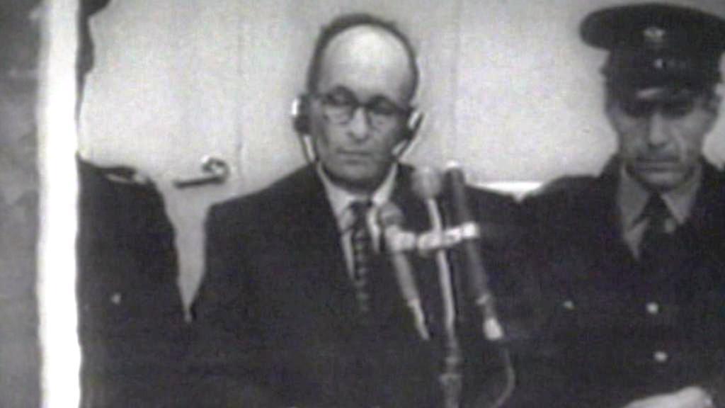 Adolf Eichmann u soudu