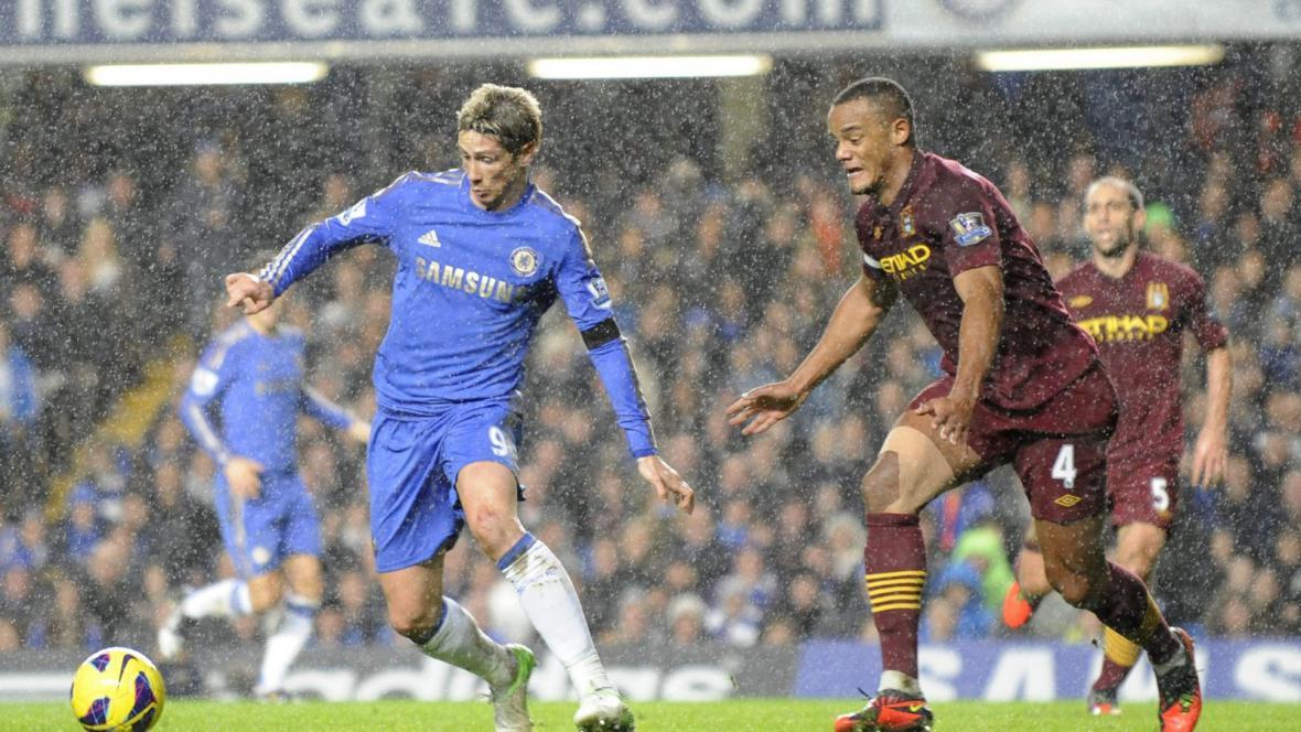 Zápas Chelsea - Manchester City