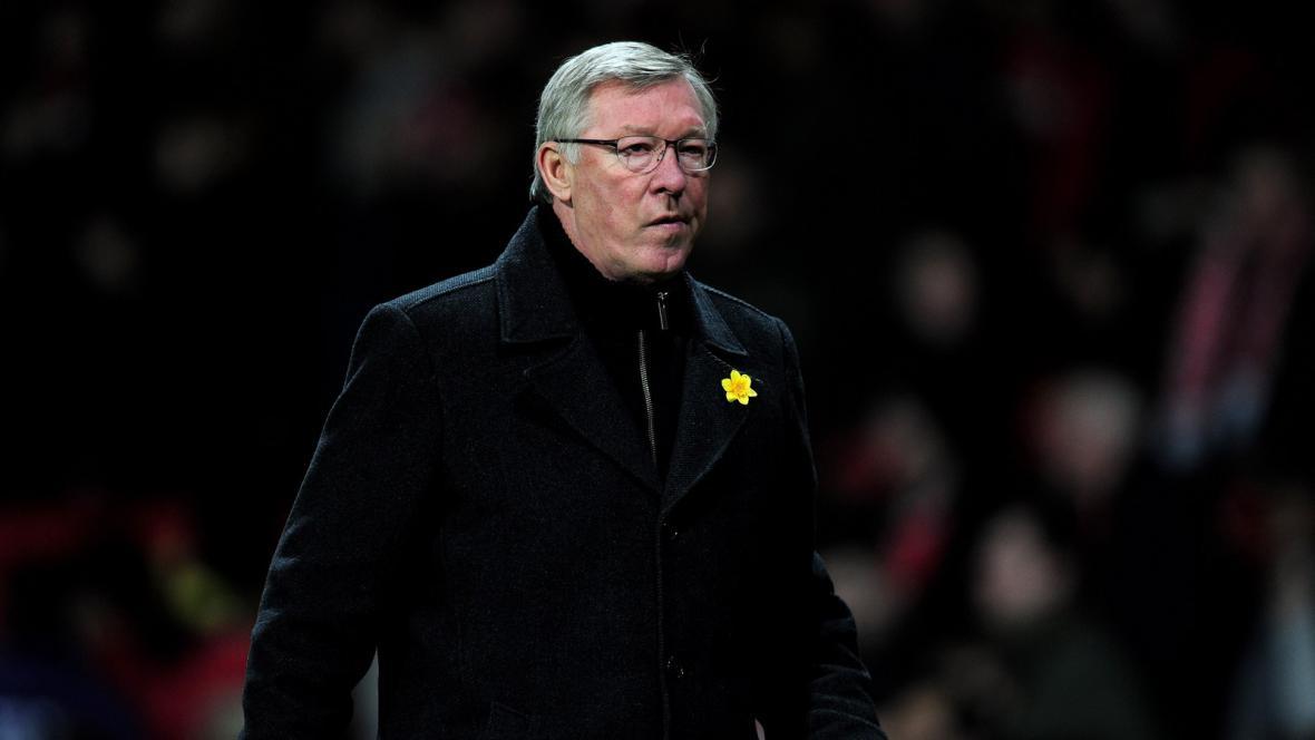 Trenér United Alex Ferguson