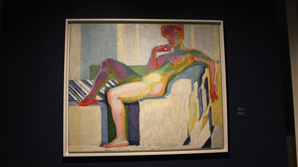 František Kupka / Velký akt (Plány podle barev) 1909-1910