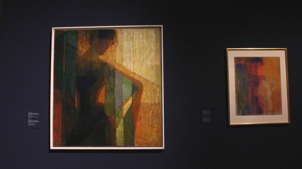 František Kupka Plány podle barev (Žena v trojúhelnících) 1910-1911