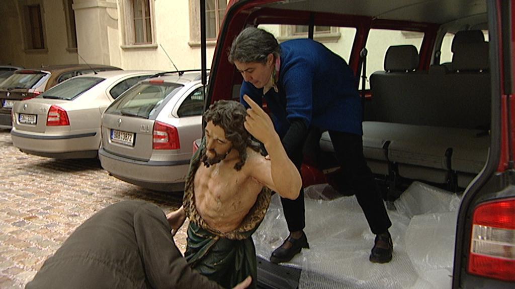 Odcizené památky se vracejí do Česka