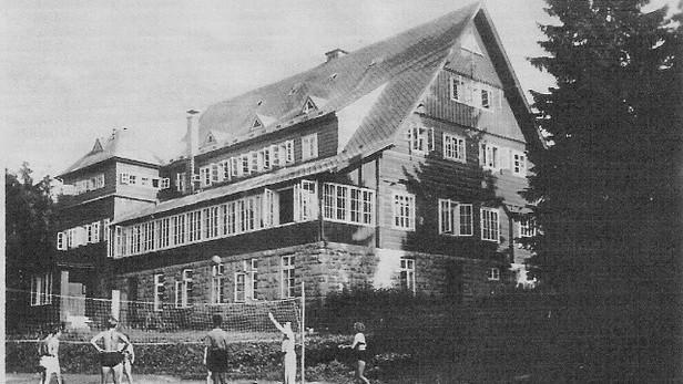 Prezidentská chata za starých časů