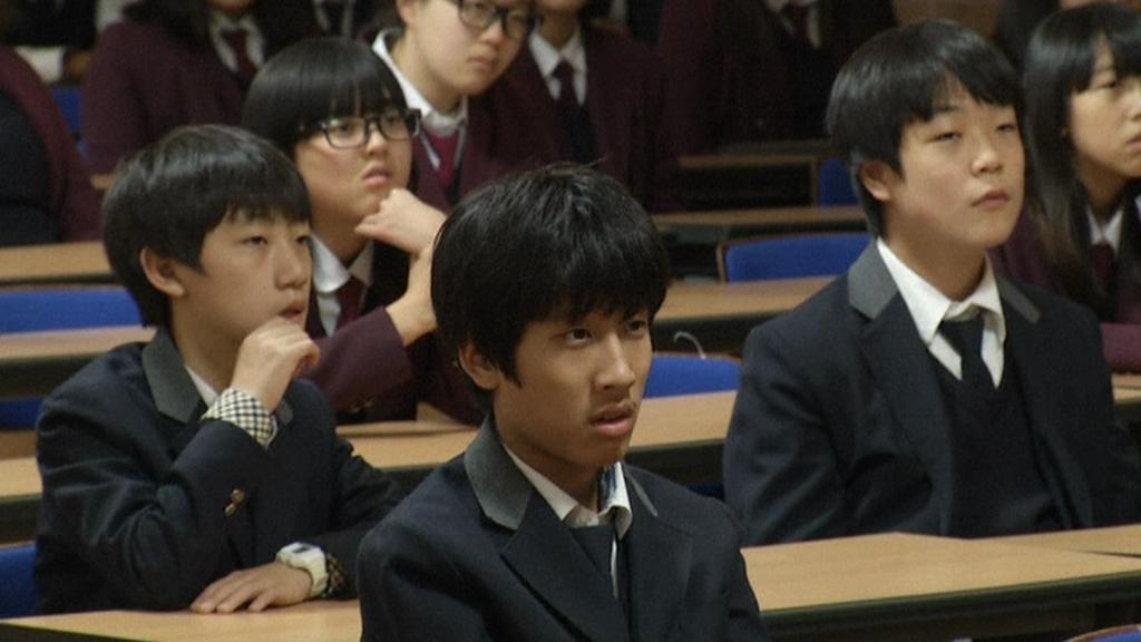 Jihokorejští studenti