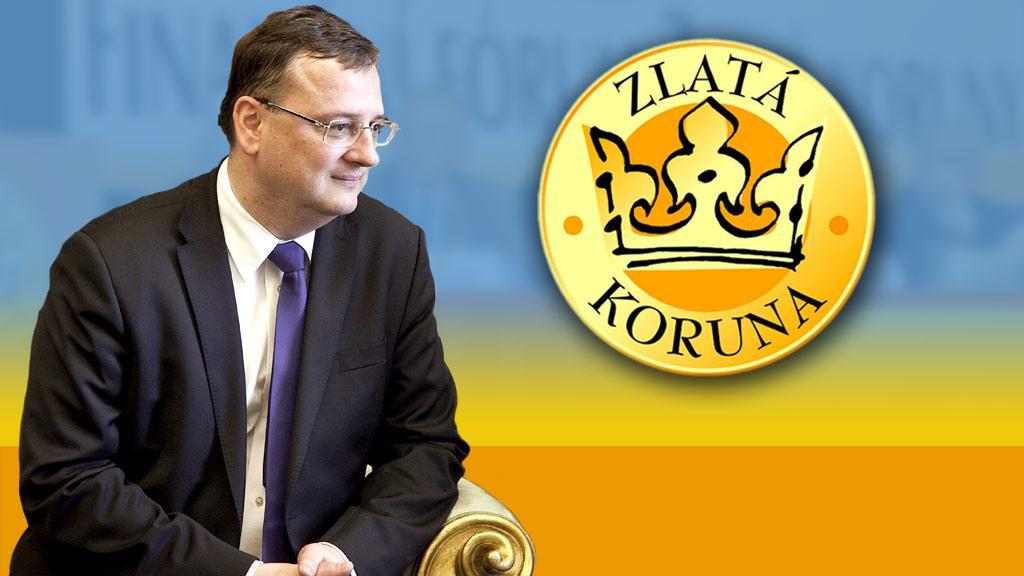 Petr Nečas a fórum Zlaté koruny
