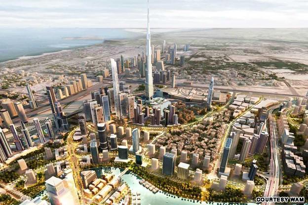 Obří nákupní centrum v Dubaji