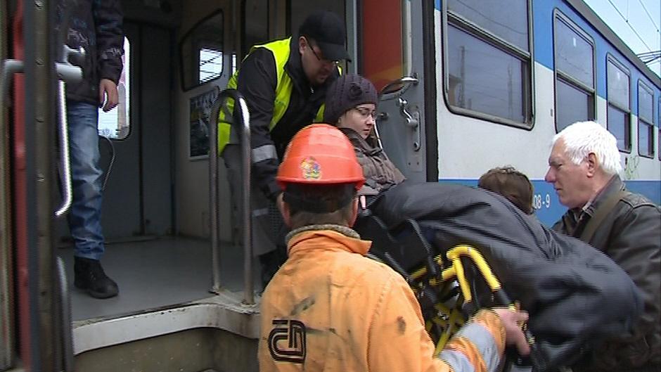 Ve Vsetíně mají handicapovaní problém nastoupit do vlaku