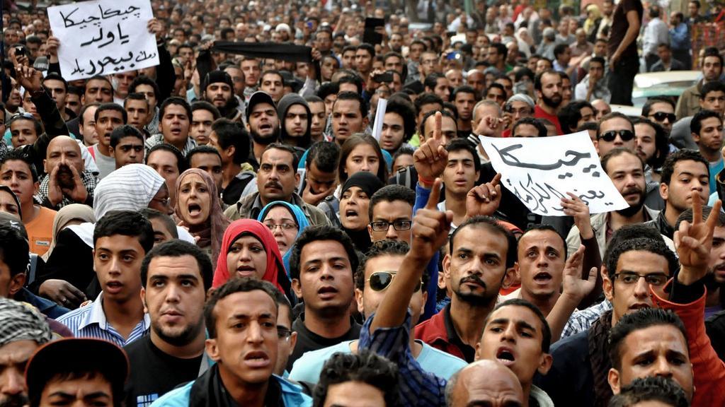 Egypťané znovu v ulicích