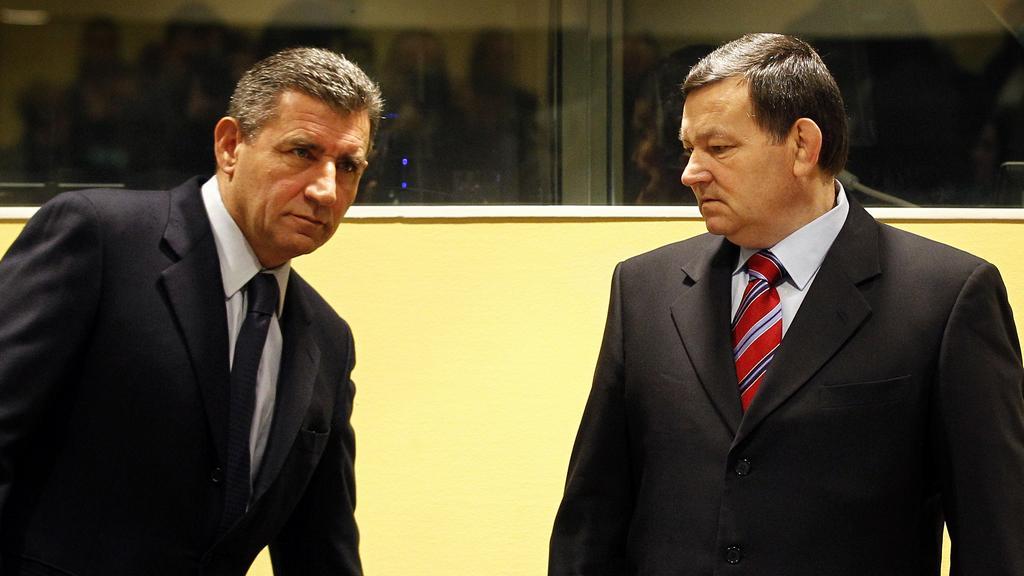 Ante Gotovina a Mladen Markać
