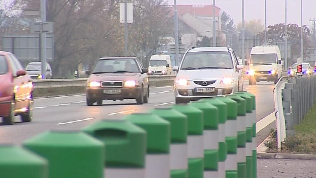 Balisety mají řidiče zpomalit, ale ne ohrozit