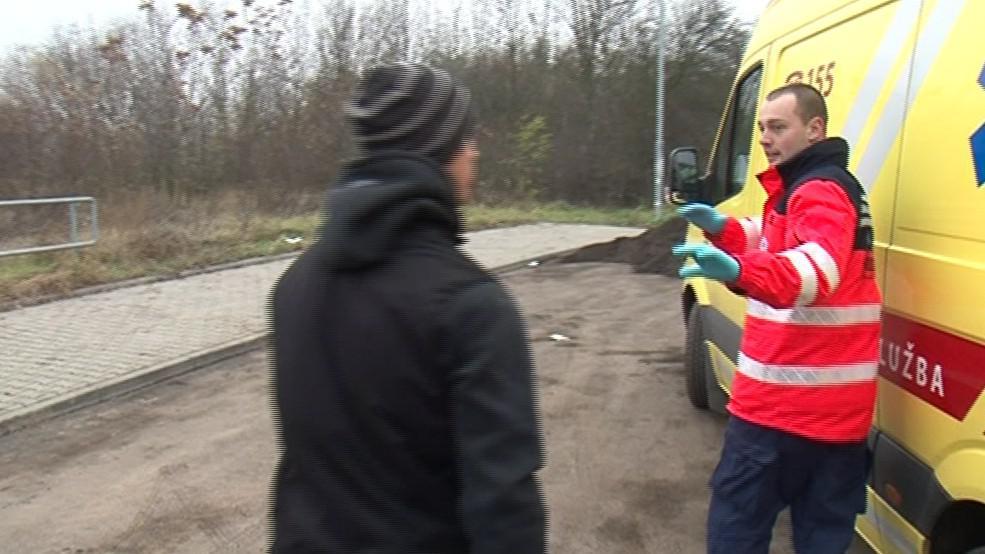 Záchranáři se často setkávají s nadávkami i fyzickým napadením