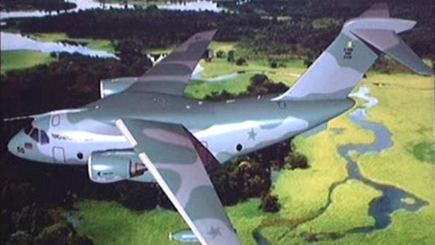 Prototyp letounu KC 390