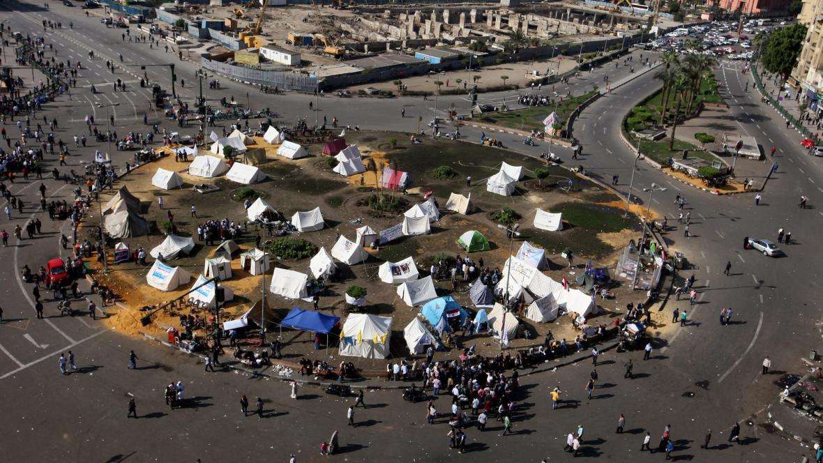 Náměstí Tahrír opět plní demonstranti