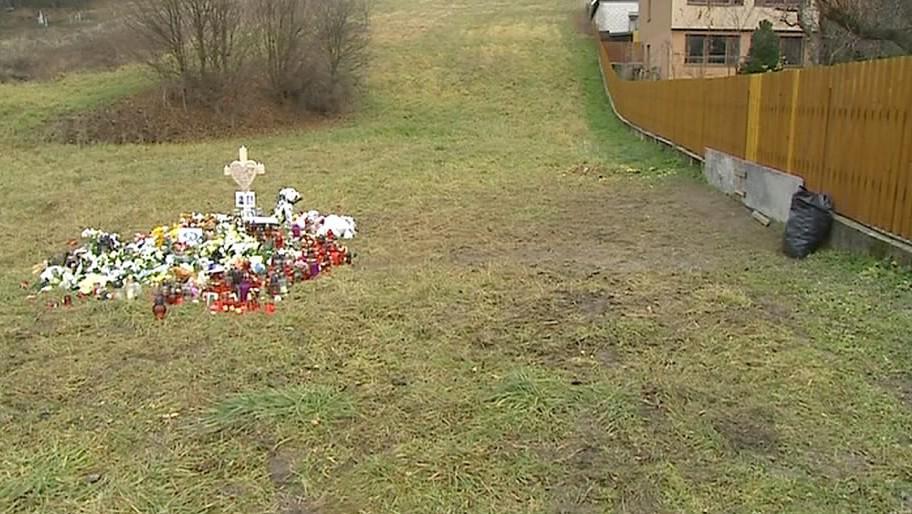 Místo tragické nehody při rallye v Lopeníku
