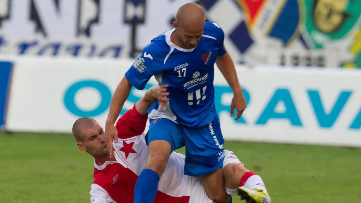 Zápas Baník - Slavia