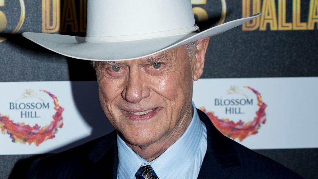 Larry Hagman, představitel J. R. Ewinga ze seriálu Dallas