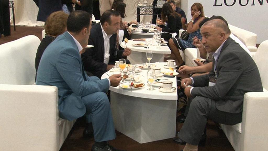 Zájemci z Ruska na veletrhu v Dubaji