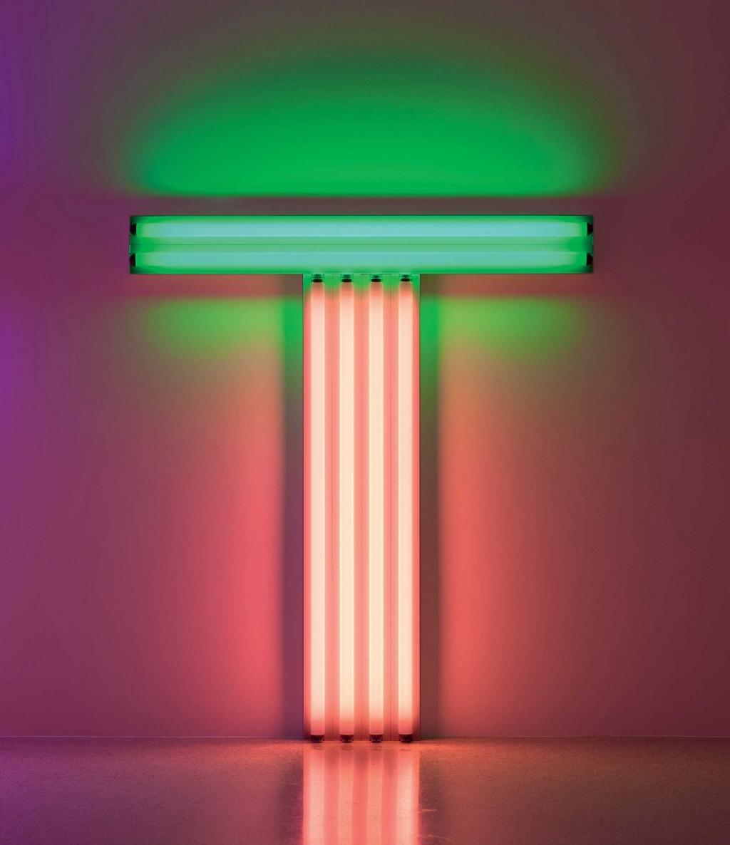 Dan Flavin to Don Judd, 1987