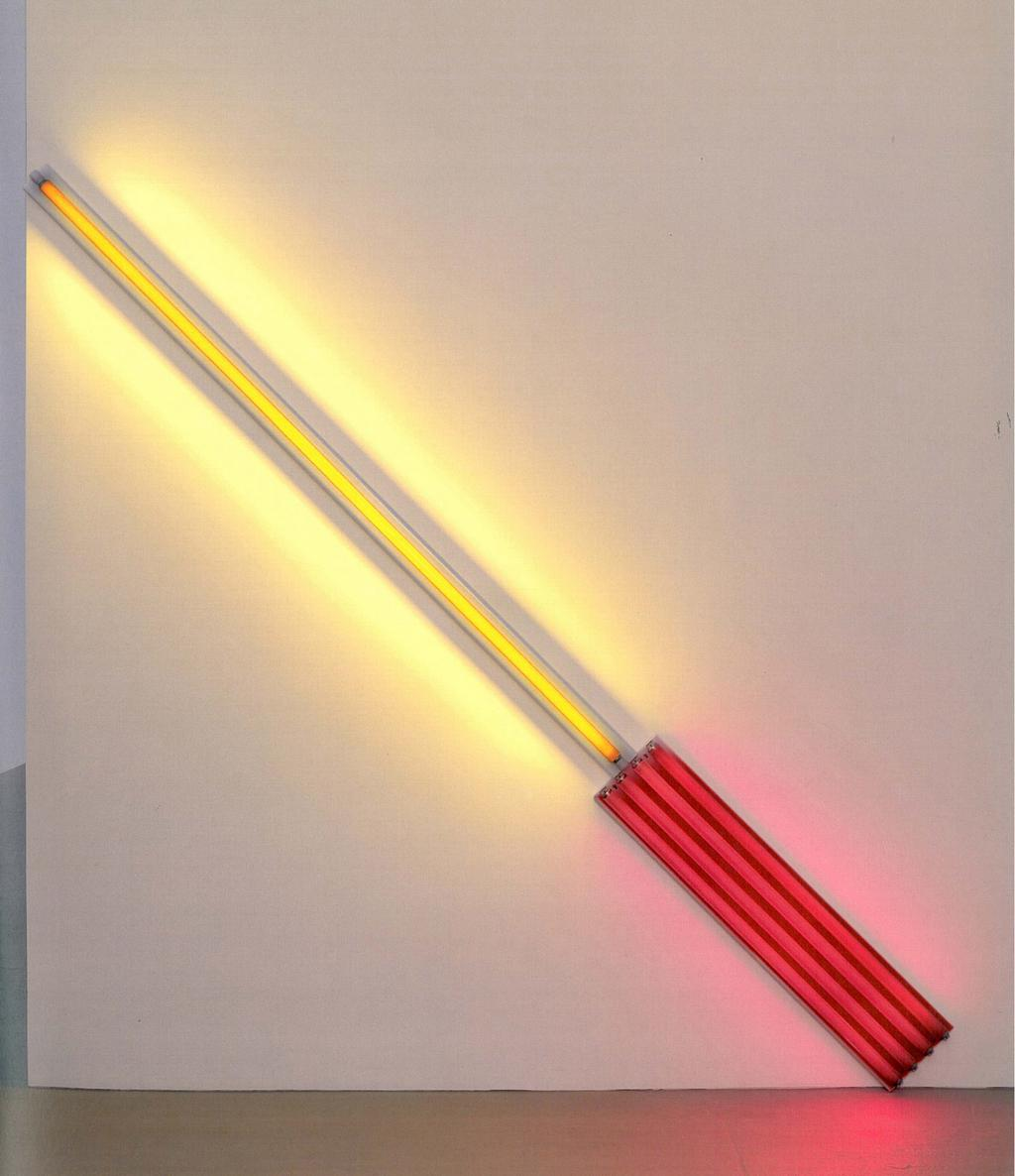 Dan Flavin / alternate diagonals of March 2, 1964 (to Don Judd), 1964