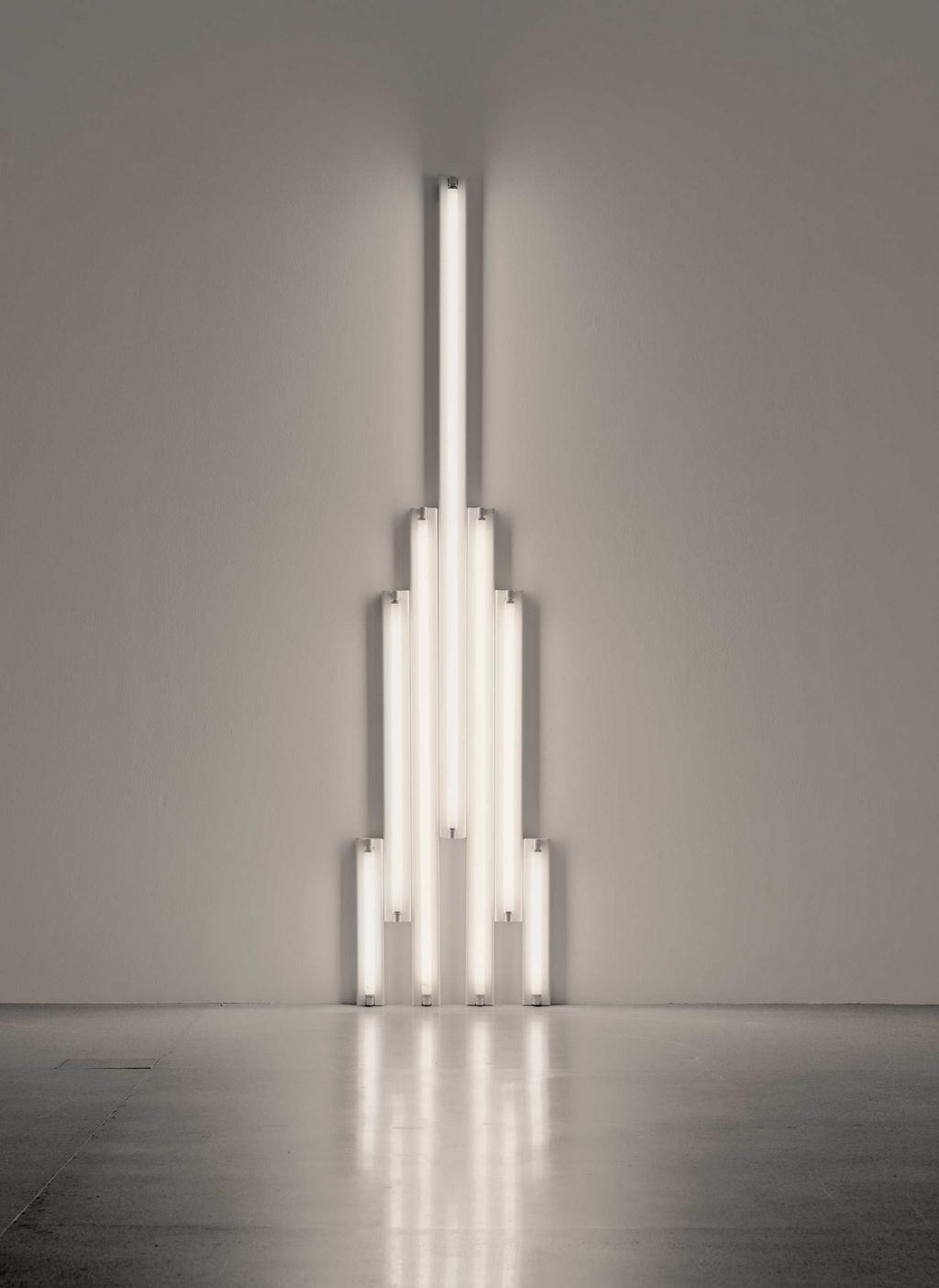 Dan Flavin / monument for Tatlin, 1966