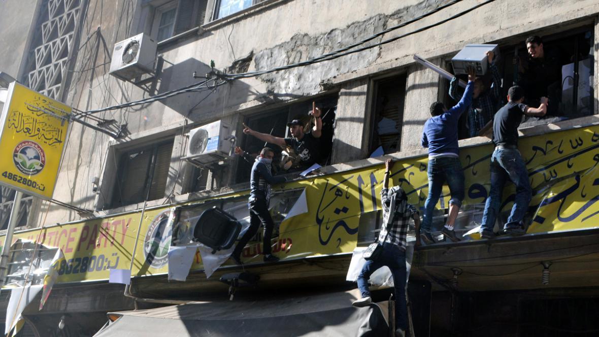 Egyptská demonstrace proti prezidentovi Mursímu