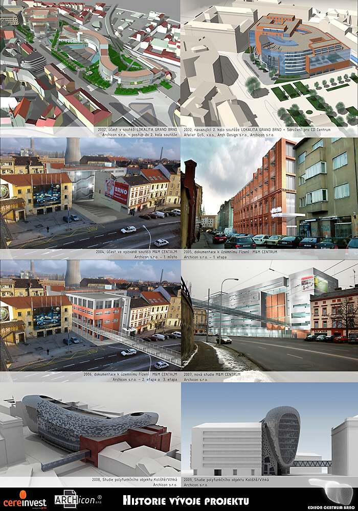 Historie vývoje projektu Edison centrum Brno