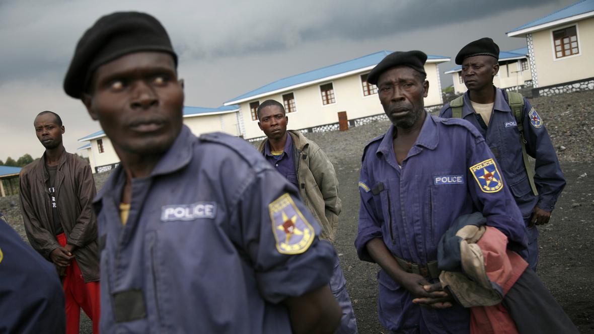 Konžská policie