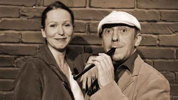 Zuzana Stivínová a Jiří Stivín
