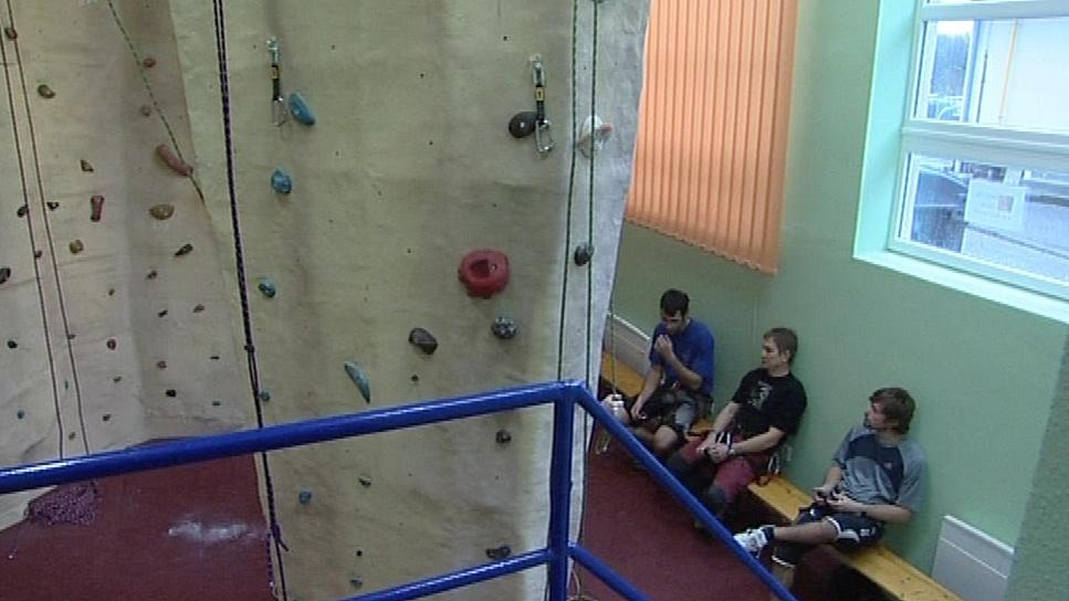Lezecká stěna v Miloticích