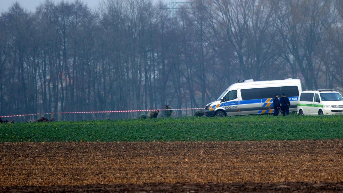 Vyšetřování nehody L-159 u Kolína