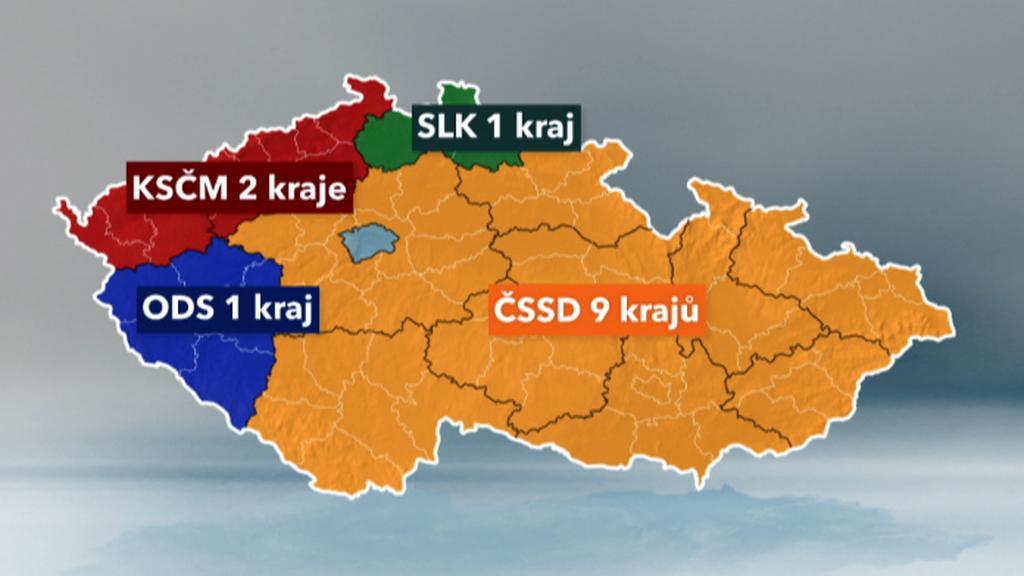 Výsledky krajských voleb 2012