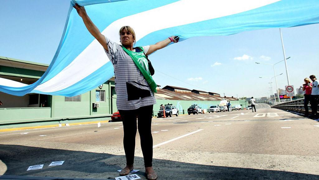 Protesty v Argentině