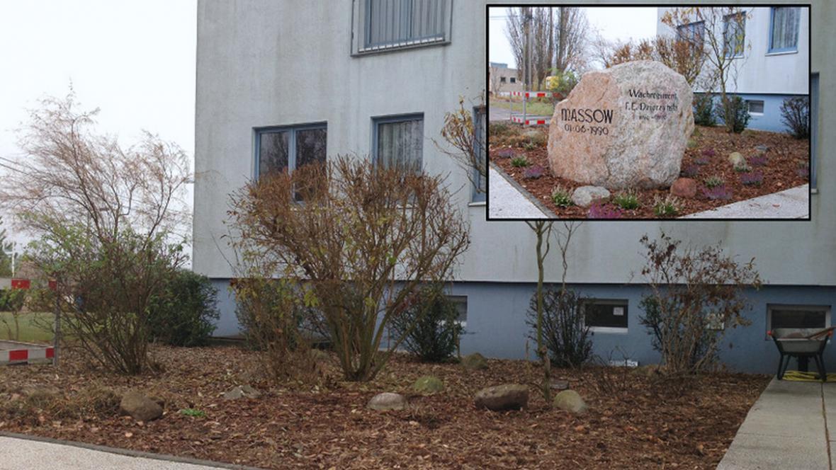 Pomník příslušníkům elitní jednotky Stasi byl odstraněn