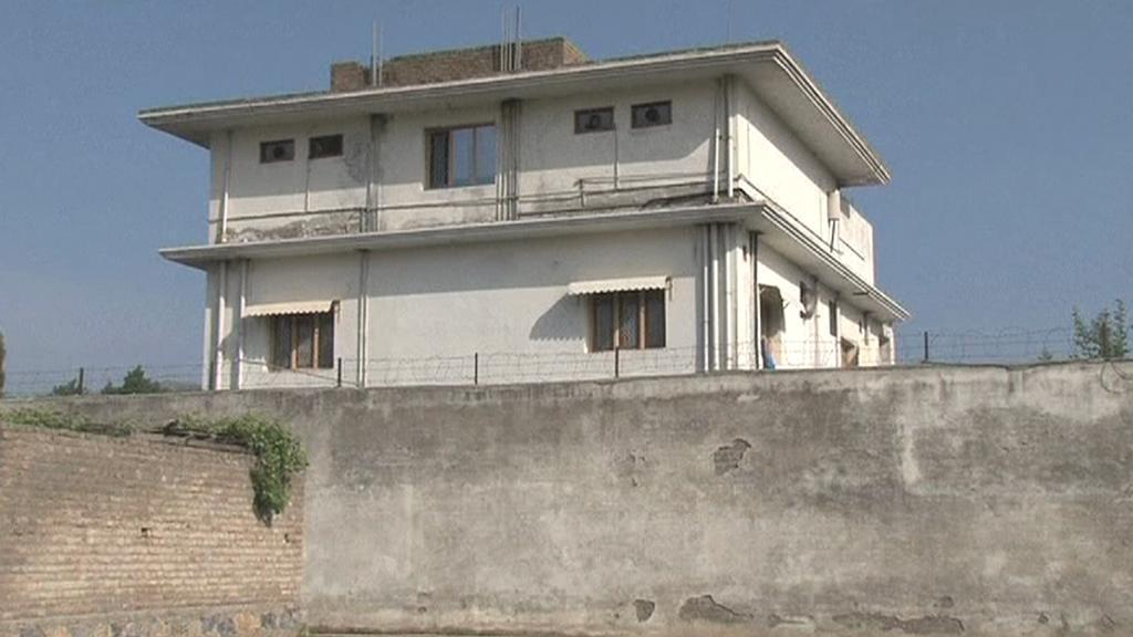 Dům, kde se skrýval Usáma bin Ládin