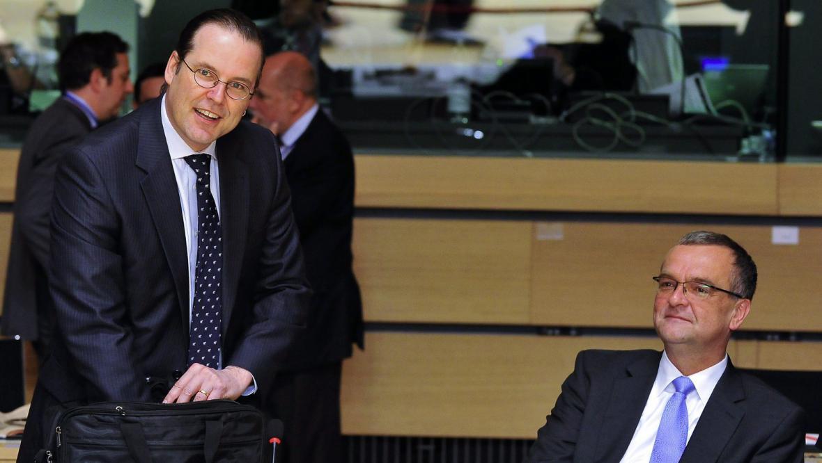 Anders Borg a Miroslav Kalousek