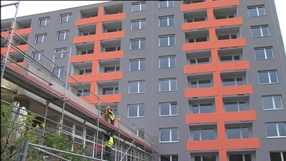 Poslední úpravy startovacích bytů