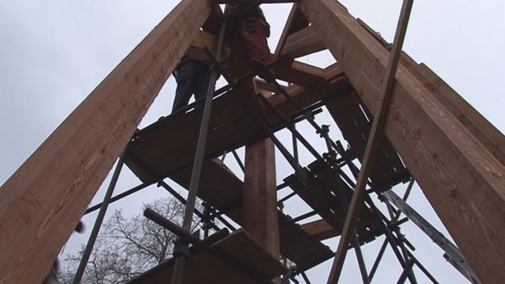Krovy nové věže
