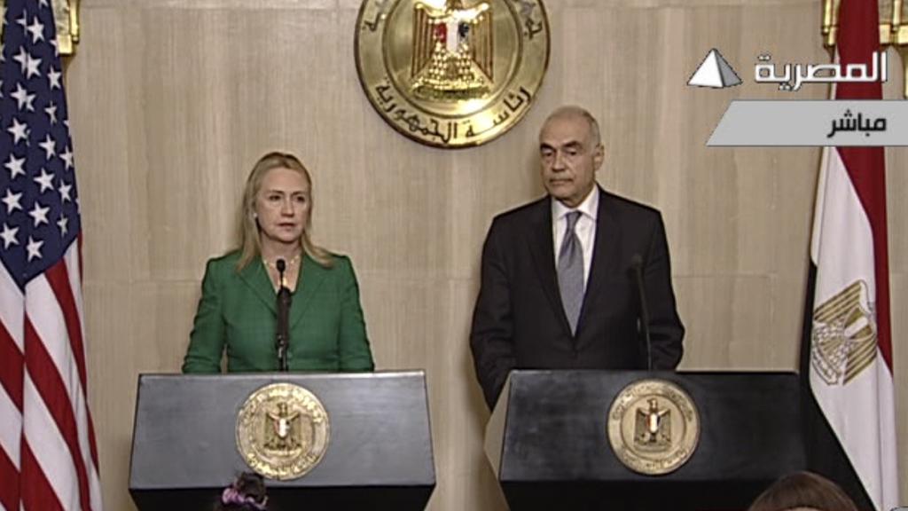 Hillary Clintonová a Muhammad Kámil oznámili příměří