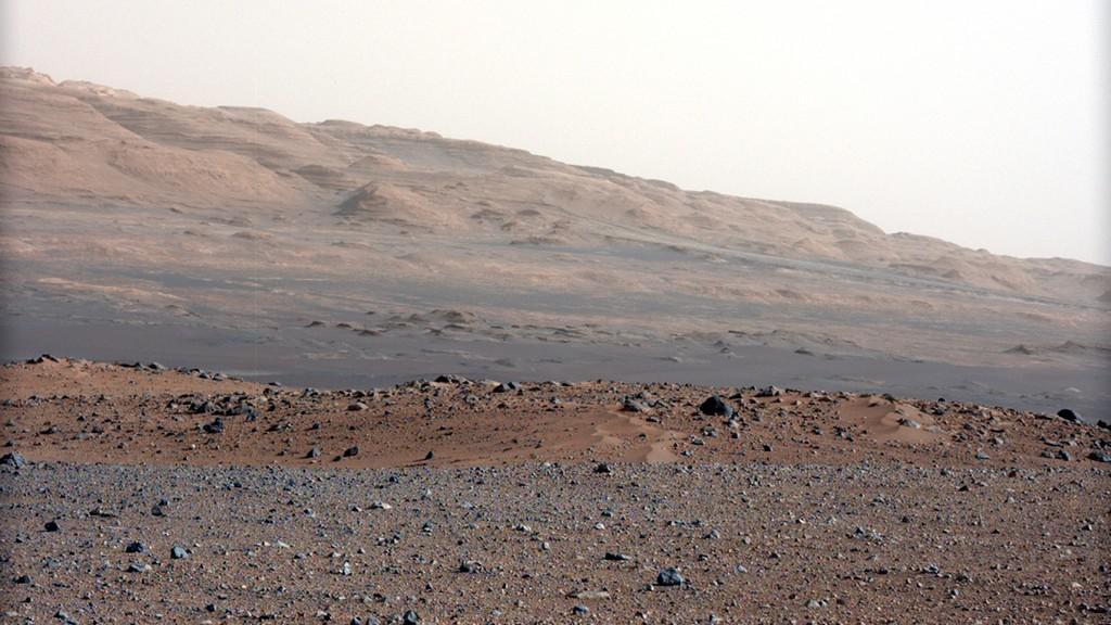 Barevné snímky z Marsu