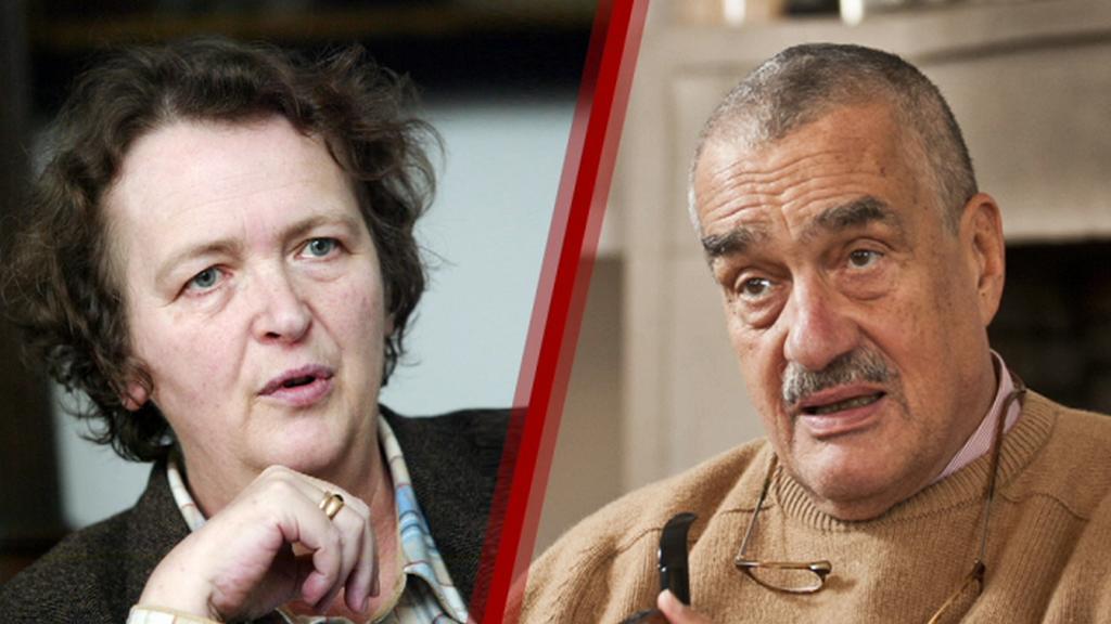 Alžběta Pezoldová a Karel Schwarzenberg