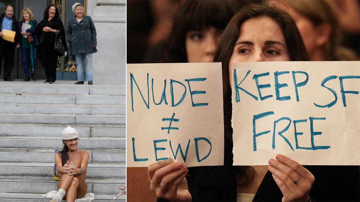 San Francisco bojuje proti veřejné nahotě